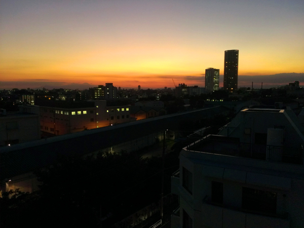 volcano sky