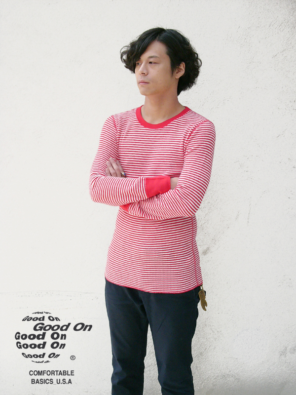 BORDER-THERMAL-TEE-RED